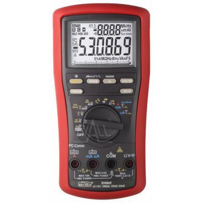 BM869s Multimetr TRMS,VFD,%4~20mA,dBm,T1/2,USB, Brymen