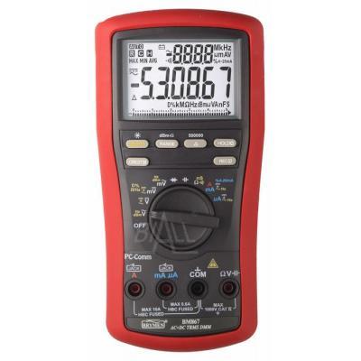 BM867s Multimetr TRMS(AC+DC),dBm,USB, Brymen
