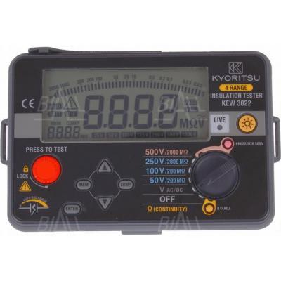 KEW3022 Miernik rezyst. izolacji 50V-500V