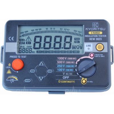 KEW3023 Miernik rezyst. izolacji 100V-1000V