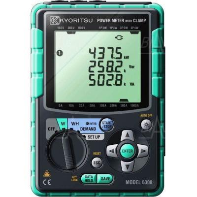 KEW6300-03 Rejestr. mocy 3-faz.+3 przyst.1000A