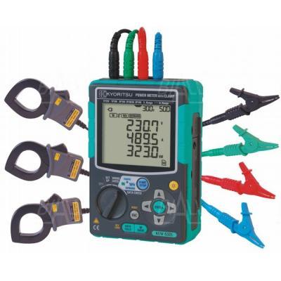 KEW6305-01 Analizator mocy 3-faz.+3 cęgi 500A