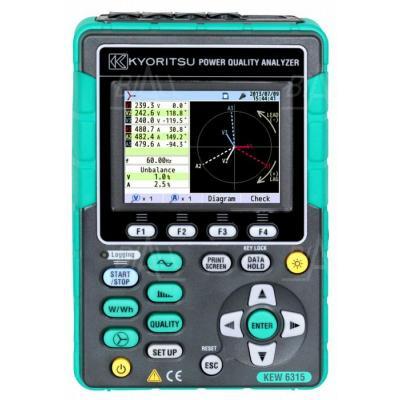KEW6315-00 Analizator jakości energii (bez cęgów)