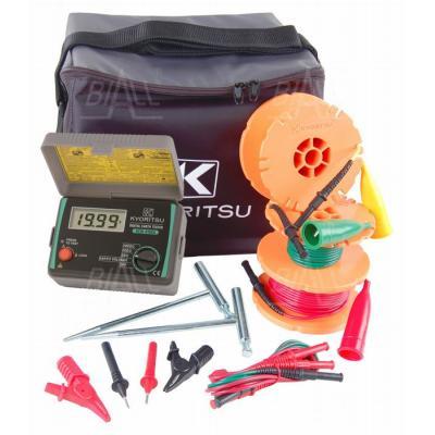KEW4105A-1 Miernik rezystancji uziemienia ze szpulkami i torbą