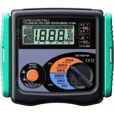 KEW4118A (KPL) Miernik impedancji pętli zwarcia