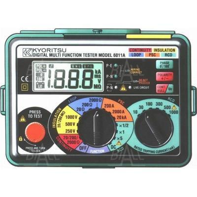 KEW6011A (KPL) Wielof. miernik instalacji elektr.
