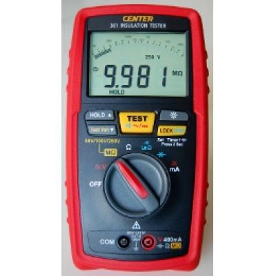 CENTER 361 - miernik rezystancji izolacji z pomiarem długości kabla