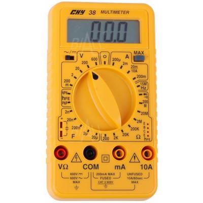 CHY38 Multimetr cyfrowy Hz,C.hFE