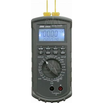 CHY506A Termometr i logger, 4 kan, kl. 0,05%, RS232 CHY
