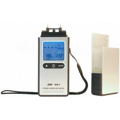 CHY291 Miernik wilgotności drewna i termohigrometr CHY