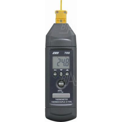 CHY700T Termometr prec. -100,+850 C (z sondą K) CHY