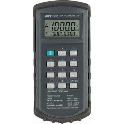 CHY502 Termometr 2 kan. kl 0.05% K,J (4 1/2cyf.)