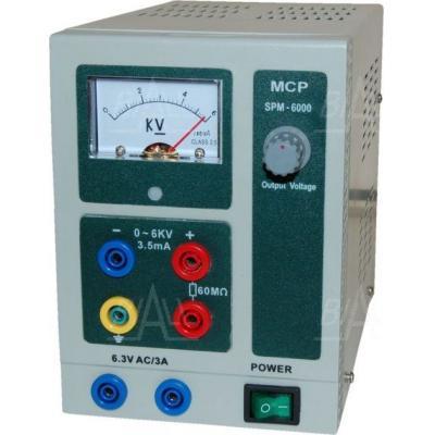 Zasilacz lab wysokonapięciowy SPN6000A 6kV/3,5mA DC MCP