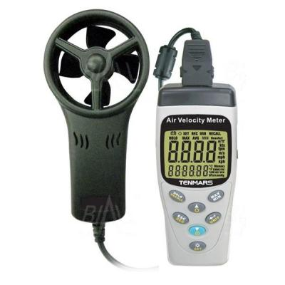 TM414 Anemometr, przepływ,temp.wilg.ciśnienie TENMARS