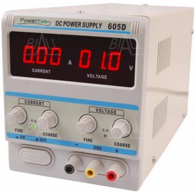 Zasilacz lab 605D 60V/5A DC LED PowerLab