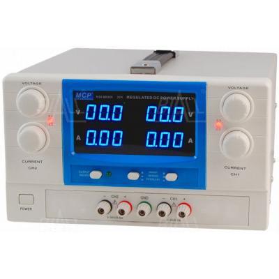 Zasilacz lab QD305 2x30V/5A DC do pracy ciągłej MCP