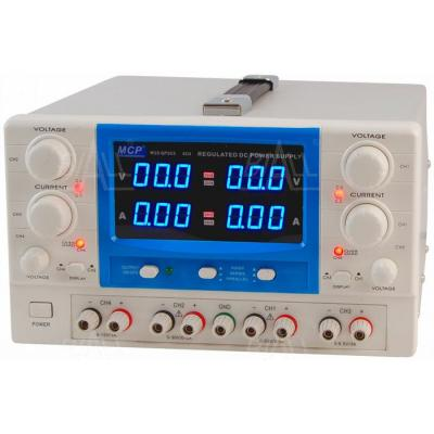Zasilacz lab QP303E 2x30V/3A 6,5V/3A 15V/1A DC praca c.