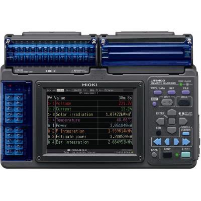 HIOKI LR8400-92/-93 - weryfikator mocy paneli słonecznych
