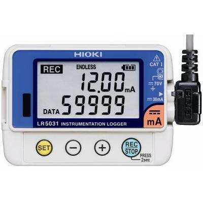 HIOKI LR5031 Miniaturowy rejestrator prądu 4-20 mA
