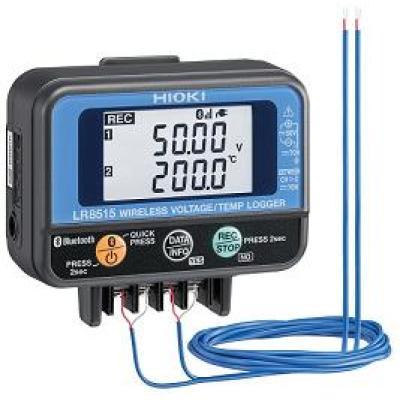 HIOKI LR8515 - bezprzewodowy rejestrator-logger napięcia stałego i temperatury